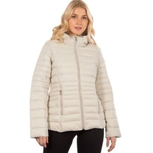 Point zero packable quilted padded puffer jacket M